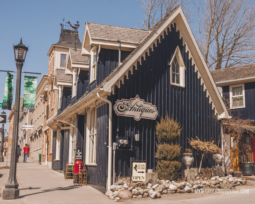 Mermaid in Elora | The ultimate list of things to do in Elora, Ontario. Visit Elora for its small town charm, natural beauty and one-of-a-kind shops and restaurants | My Wandering Voyage travel blog