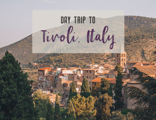 Visit UNESCO World Heritage Sites Villa Adriana and Villa d'Este in a day trip to Tivoli, Italy, a mountainside town about 30 kilometres from Rome. | My Wandering Voyage travel blog #rome #italy #travel #UNESCO