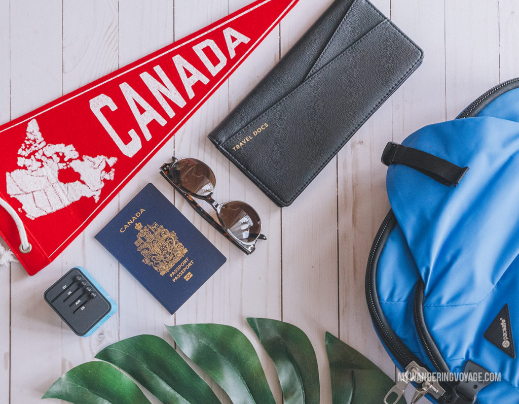 Packing for Canada | In Canada, summer temperatures range from coast to coast to coast. It can be hard to know what to pack for Canada in summer. This guide will help. #packingguide #packinglist #summertravel #travel #Canada
