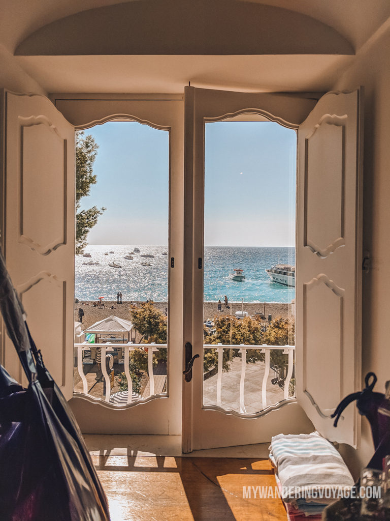 Framing in the Amalfi Coast | With the powerful device in your pocket you can take incredible photos of your travels. Here is the ultimate guide to smartphone travel photography. | My Wandering Voyage travel blog #travel #photography #tips #travelphotography #smartphonephotography