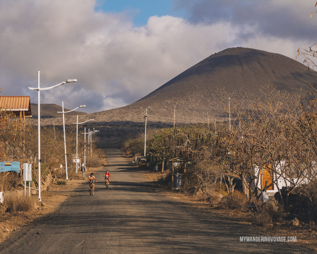 Small town on Floreana Island | What to pack for the Galapagos Islands. Find out what to bring, what to leave at home, when the best time to visit the Galapagos Islands is, and other tips in this Galapagos packing list. | My Wandering Voyage travel blog #travel #galapagos #galapagosislands #packing list