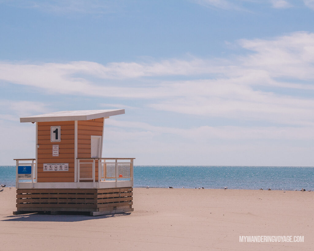 Cobourg Beach | Days trips in Ontario | My Wandering Voyage travel blog