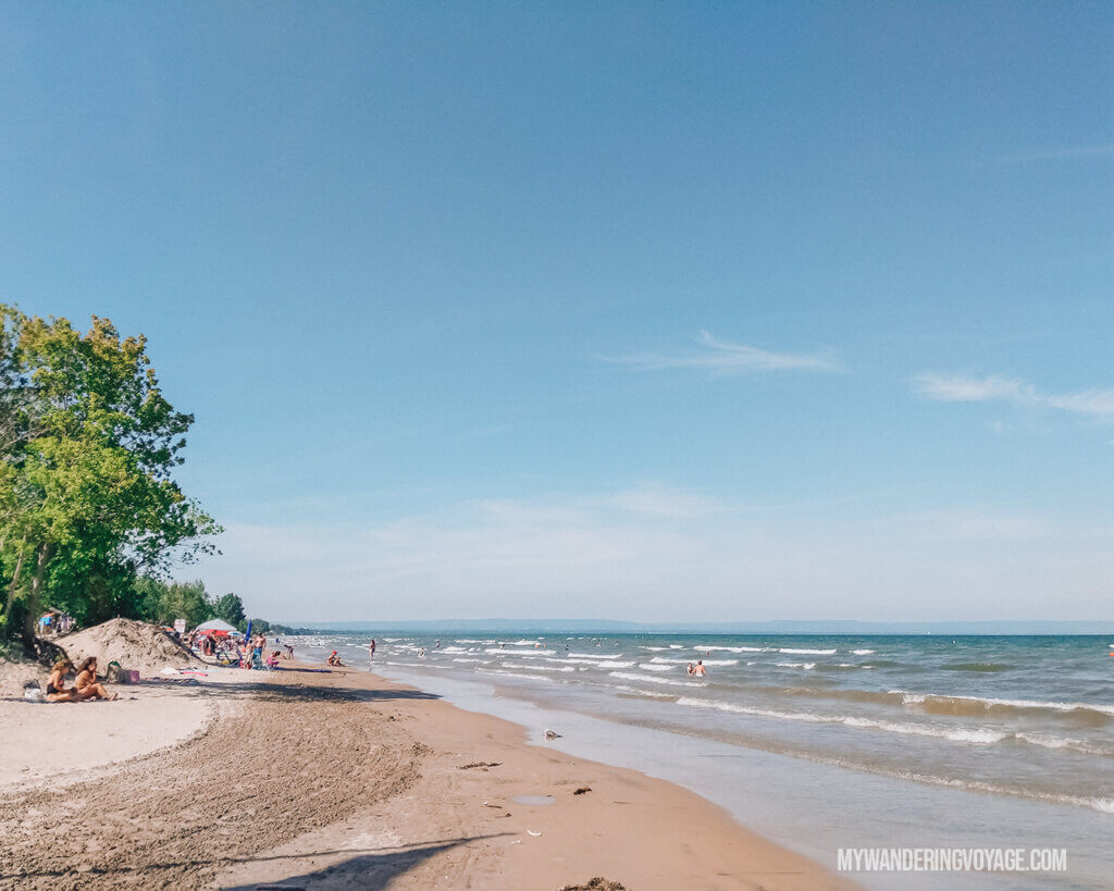 Escape the city and take a day trip to Wasaga Beach Provincial Park | My Wandering Voyage travel blog