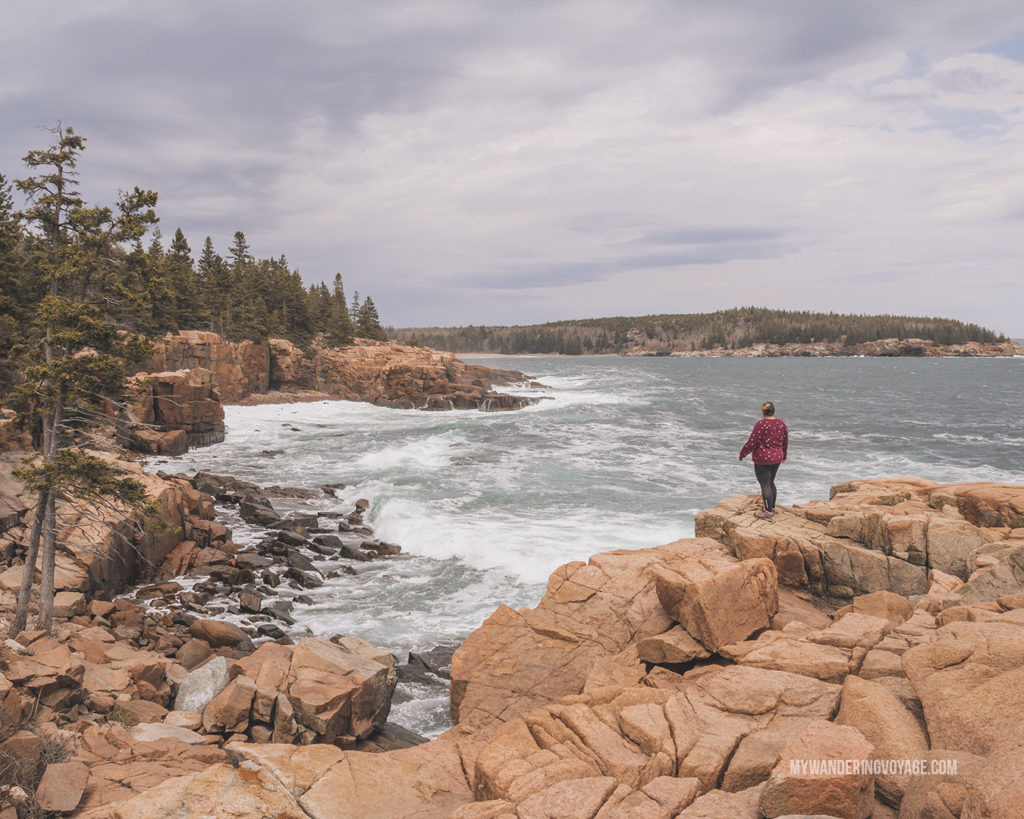 Acadia National Park   This New England road trip itinerary will take you on the scenic route from Boston to Portland, Mid Coast Maine and Acadia National Park.   My Wandering Voyage #Boston #Portland #Maine #travel