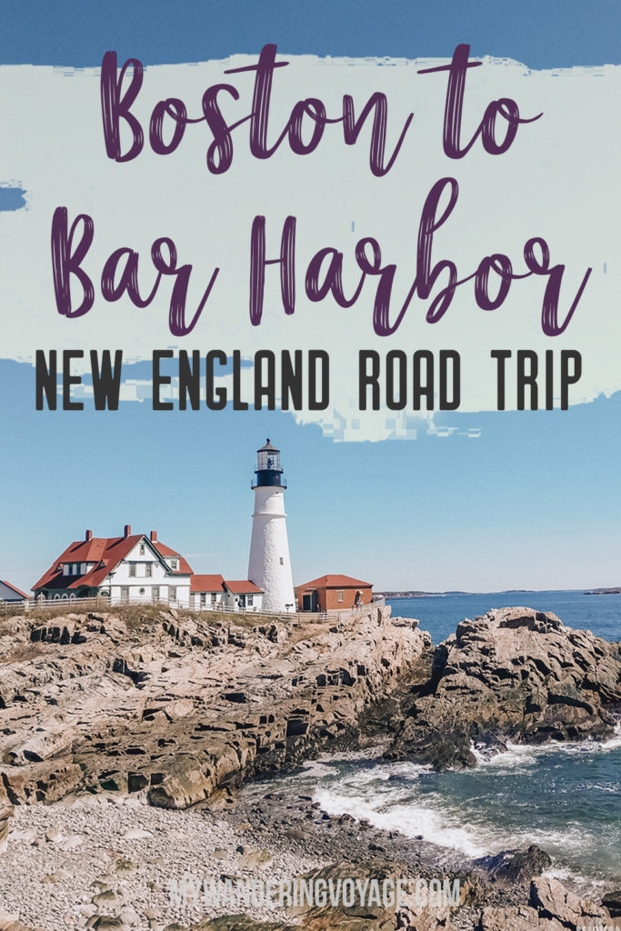From Boston to Bar Harbor: a New England road trip [+Map ... on boston city road map, new york road map, port of boston map,