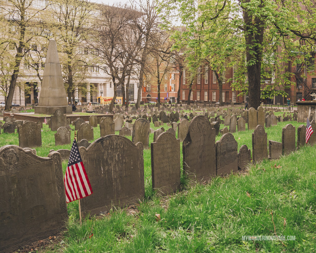Granbury cemetery Boston   This New England road trip itinerary will take you on the scenic route from Boston to Portland, Mid Coast Maine and Acadia National Park.   My Wandering Voyage #Boston #Portland #Maine #travel