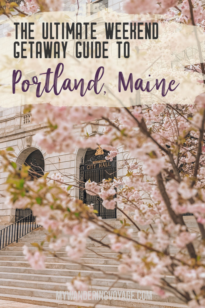 Grab your best gal pals or significant other for the ultimate weekend getaway in Portland, Maine. Find where to stay, what to eat and things to do in this guide to Portland, Maine. #Portland #Maine #USA #travel