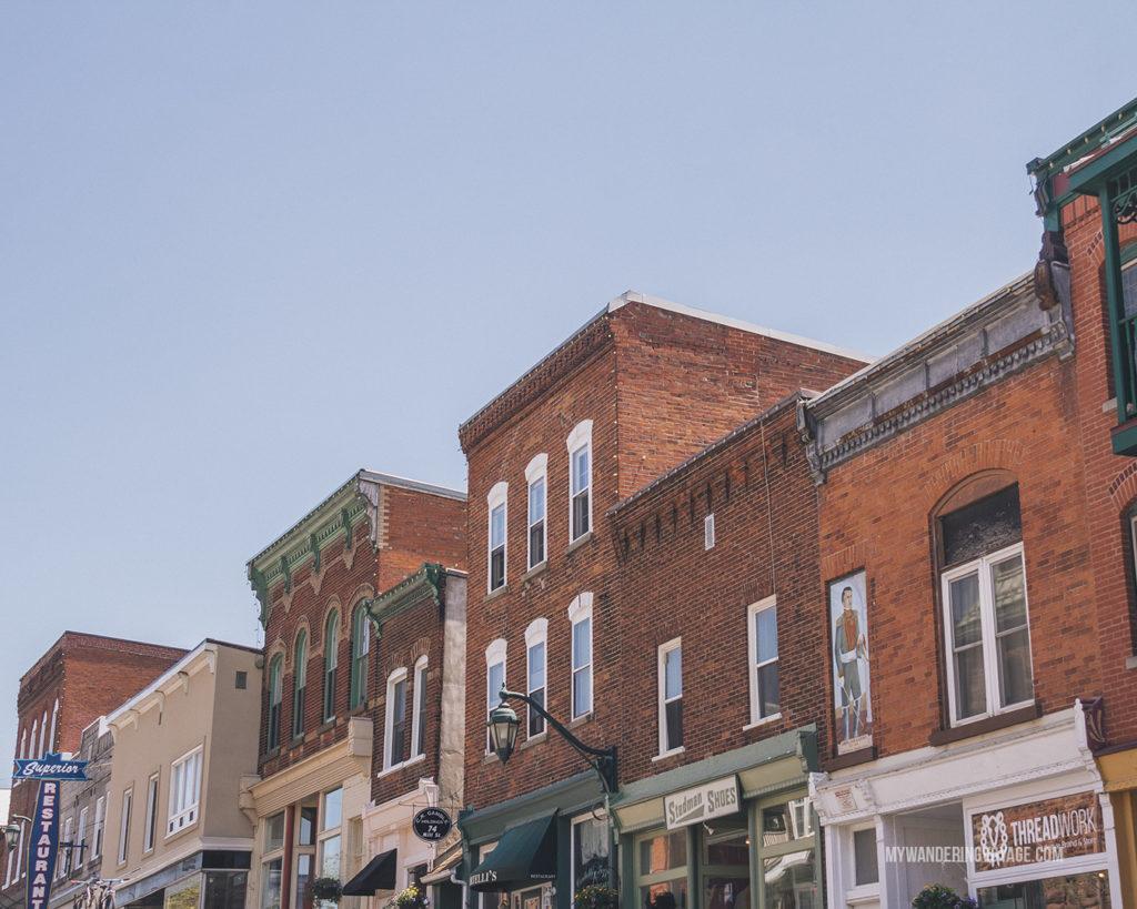Almonte, Ontario downtown