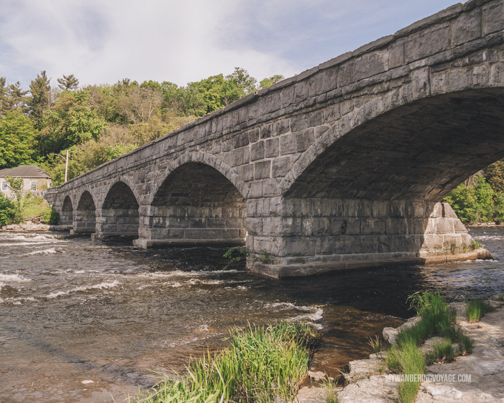 five span bridge Lanark County