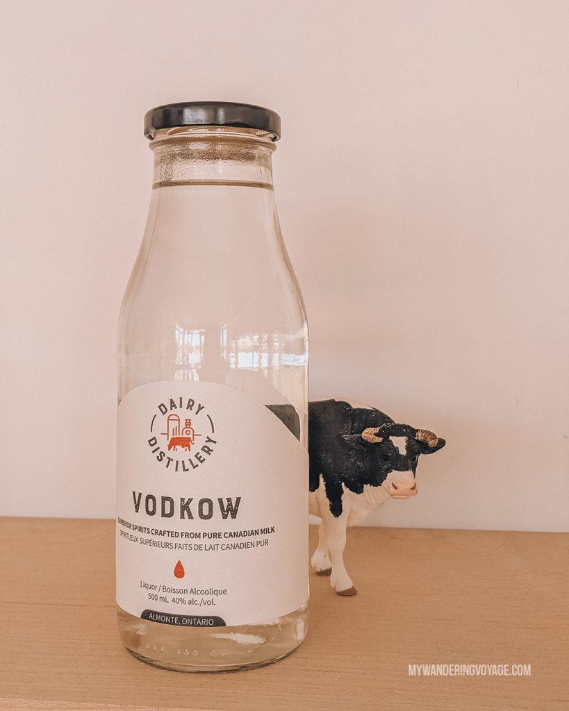 Vodkow, Dairy Distillery