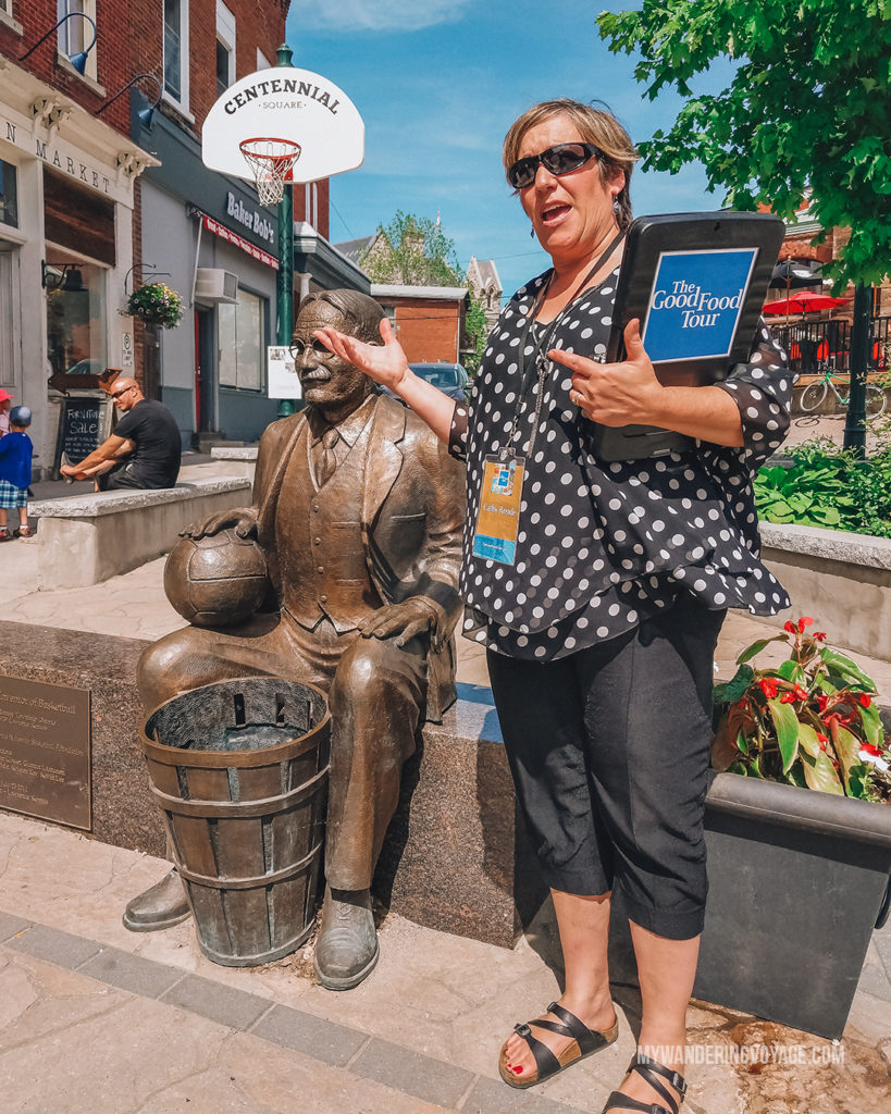 Cathy of the Good Food Tours