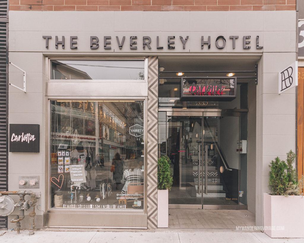 The Beverley Hotel Toronto