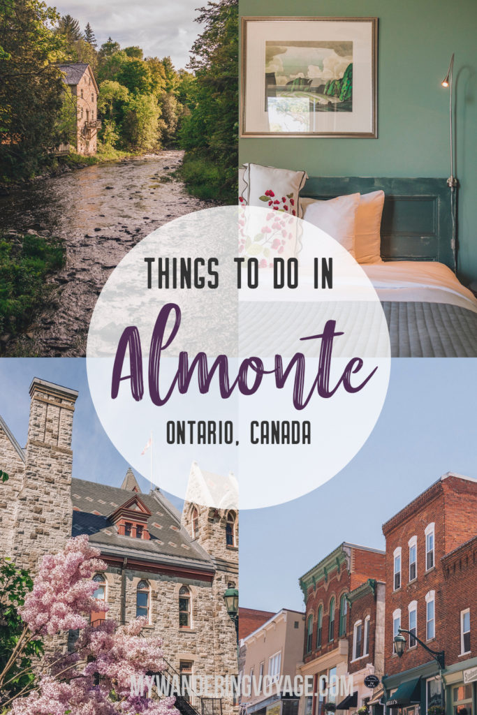 Discover the best things to do in Almonte, Ontario for a perfect Canadian summer weekend. | My Wandering Voyage travel blog #AlmonteOntario #Ontario #Canada #Travel