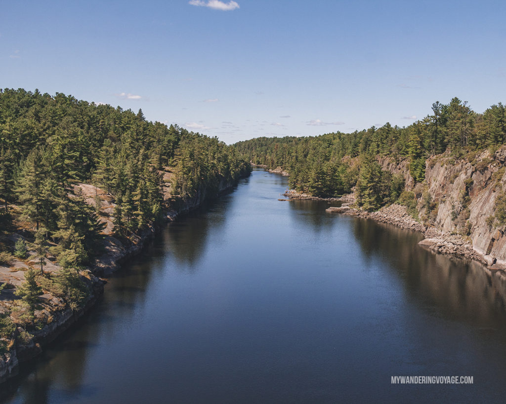 French River Provincial Park - best Ontario parks to visit in the fall