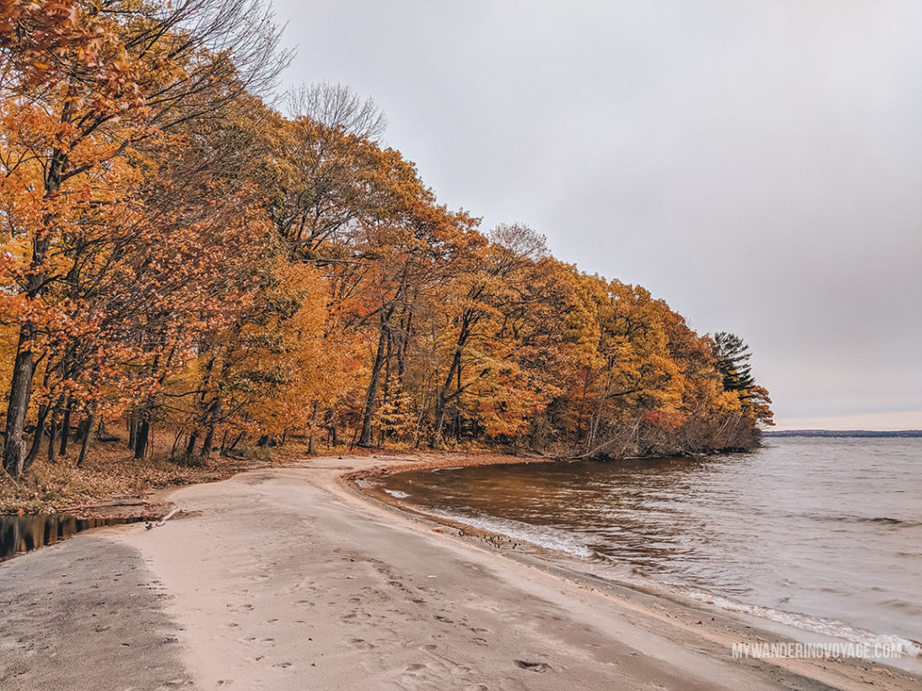Killbear Provincial Park - best Ontario Parks to visit in the fall