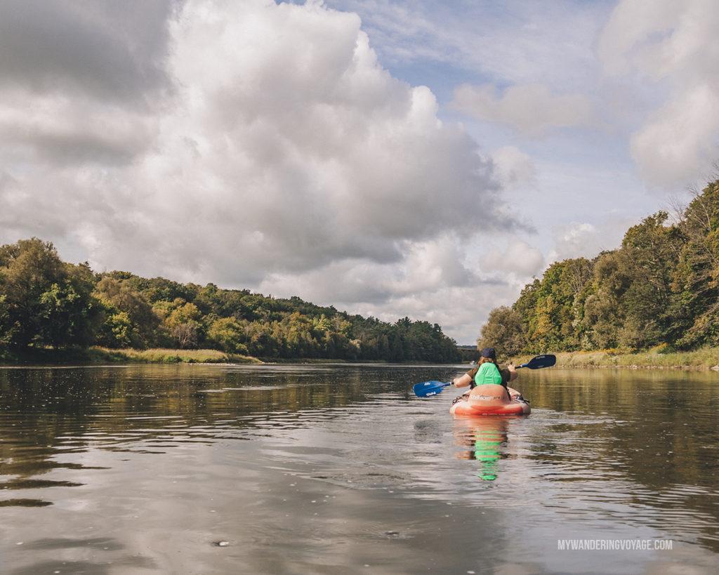 Grand River rafting