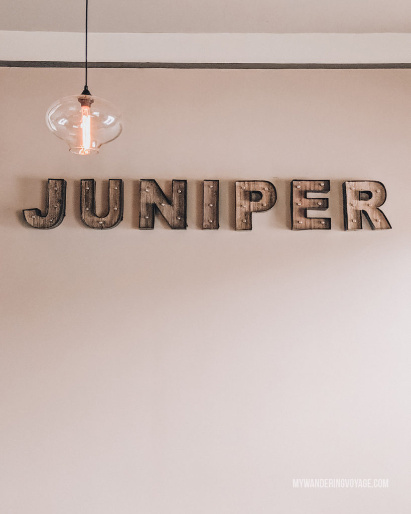 Juniper Dining Co, Paris, Ontario