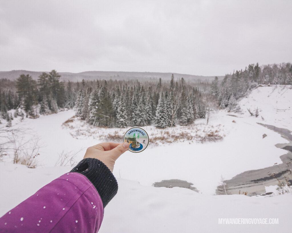 Arrowhead Provincial Park winter Big Bend