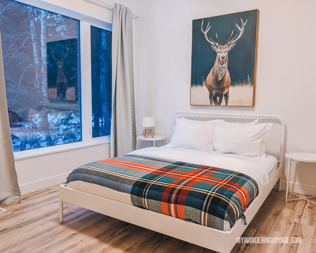 Muskoka airbnb in winter