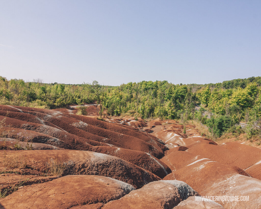 Cheltenham Badlands | Hiking the Bruce Trail: 14 side trails to explore | My Wandering Voyage travel blog