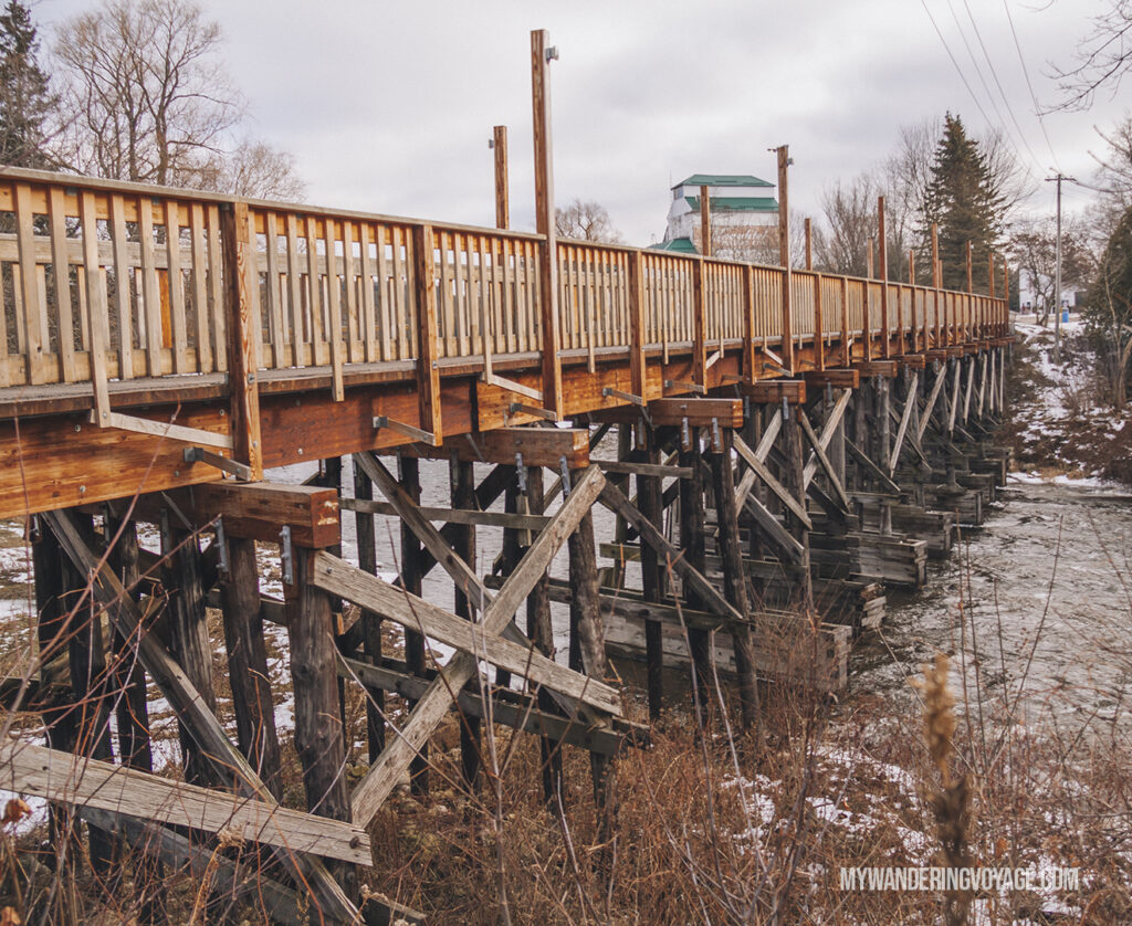Historic trestle bridge in Durham | Best scenic bridges in Ontario you have to visit | My Wandering Voyage travel blog