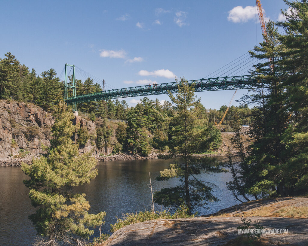 French River provincial Park bridge | Best scenic bridges in Ontario you have to visit | My Wandering Voyage travel blog