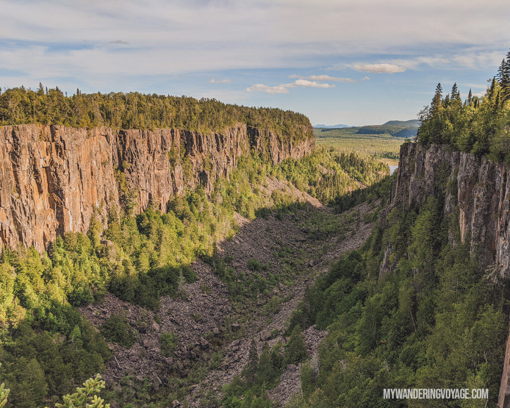 Ouimet Canyon lookout | Best scenic bridges in Ontario you have to visit | My Wandering Voyage travel blog