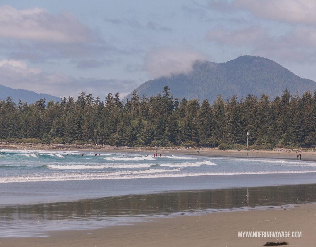 Pacific Rim National Park Tofino beach | Ways to explore Canada virtually | My Wandering Voyage