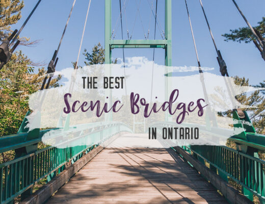 Take in the surrounding landscape from this list of best scenic bridges in Ontario that you have to visit. #travel #Ontario #Canada | My Wandering Voyage travel blog