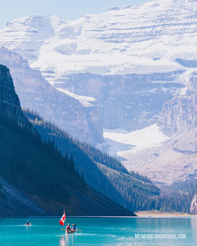 Lake Louise Alberta | Canada Travel Guide | My Wandering Voyage travel blog