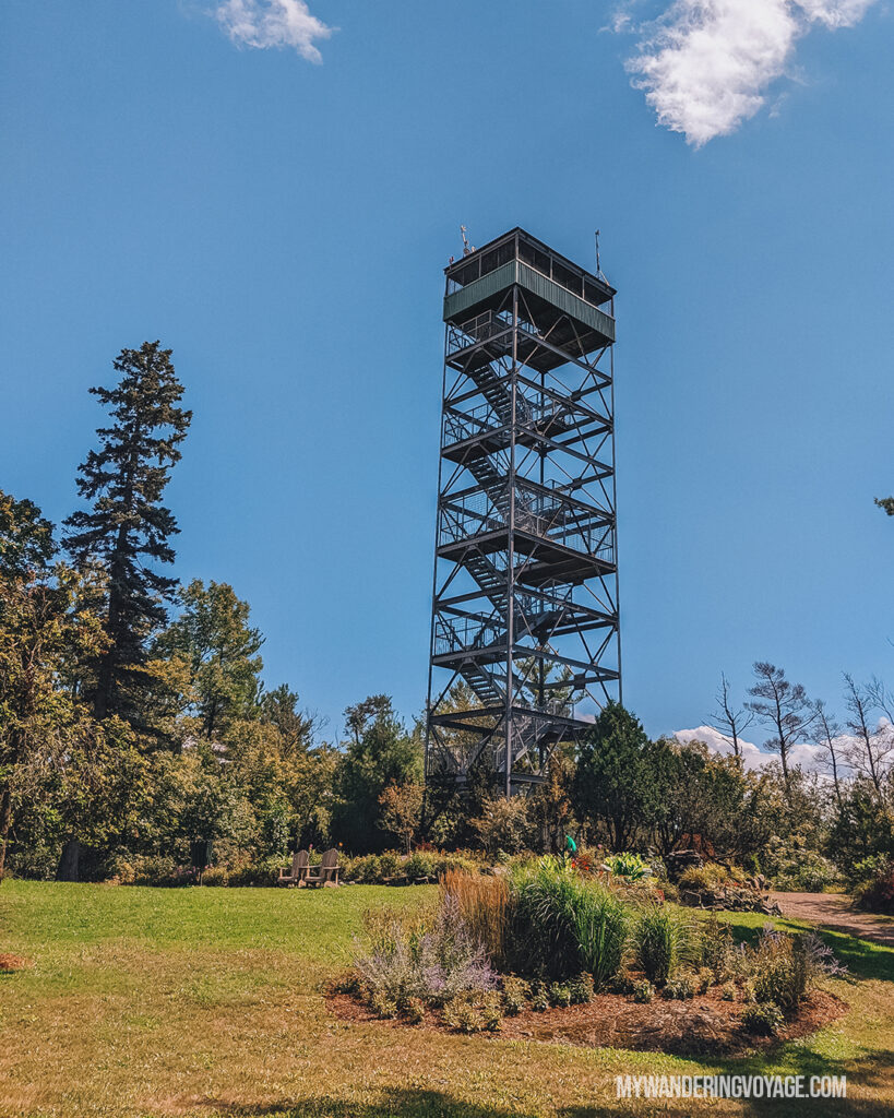Parr Sound Lookout Tower | 25 best scenic lookouts in Ontario you have to see for yourself | My Wandering Voyage travel blog