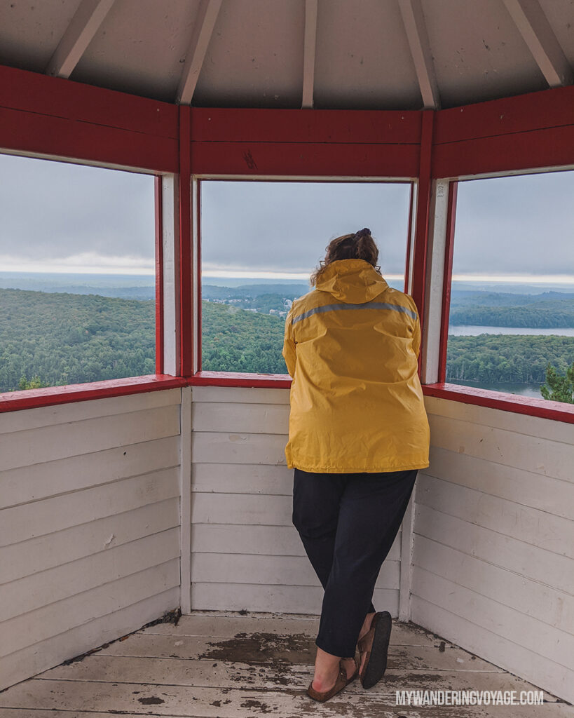 Elliot Lake Fire Tower | 25 best scenic lookouts in Ontario you have to see for yourself | My Wandering Voyage travel blog