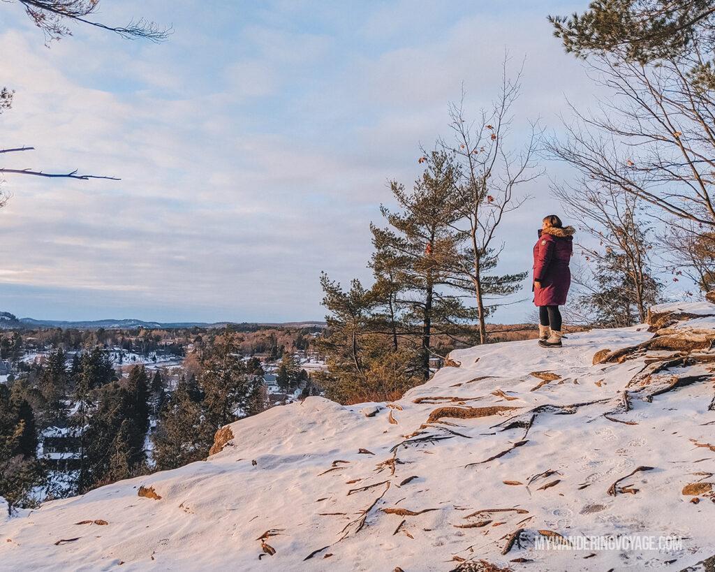 Lions Lookout over Huntsville | 25 best scenic lookouts in Ontario | My Wandering Voyage travel blog