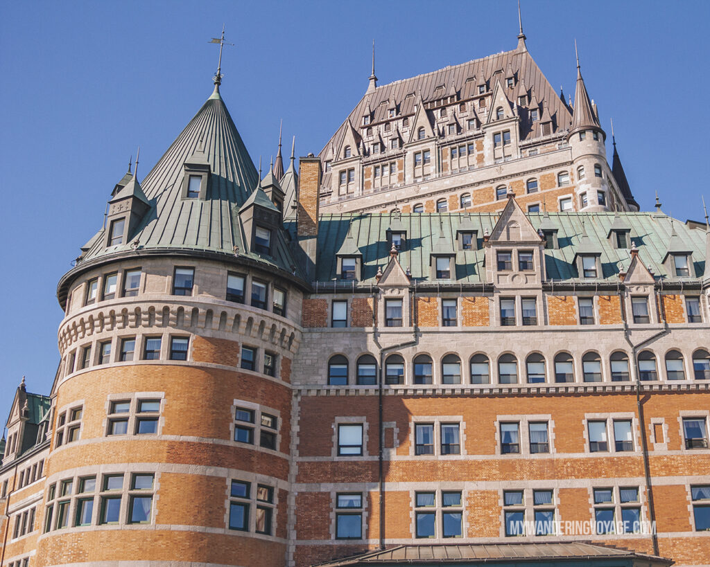 Quebec City Fairmont Hotel | Canada Travel Guide | My Wandering Voyage travel blog