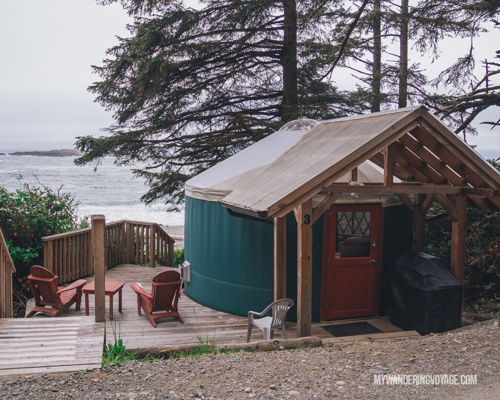 Wya Point Yurts | Vancouver Island road trip 5 day itinerary | My Wandering Voyage