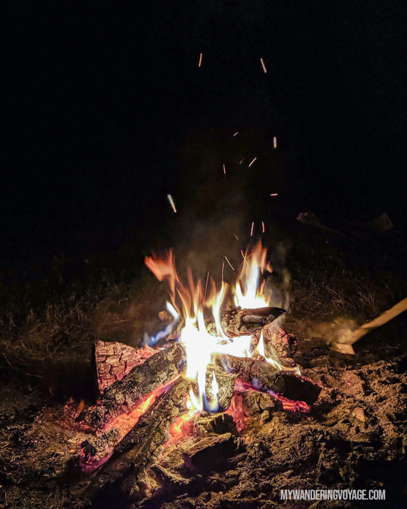 How to start a campfire | Beginners guide to camping + camping essentials | My Wandering Voyage travel blog