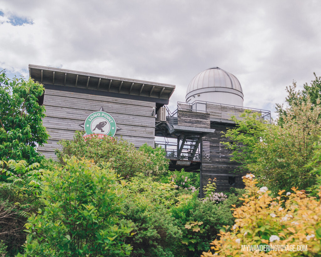 Long Point Eco Adventures observatory | Discover Ontario's Garden: Relaxing things to do in Norfolk County | My Wandering Voyage travel blog