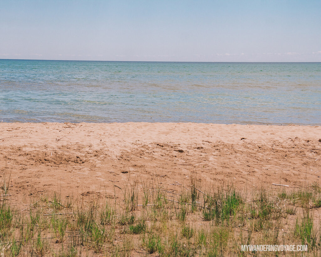 Turkey Point Beach | Discover Ontario's Garden: Relaxing things to do in Norfolk County | My Wandering Voyage travel blog