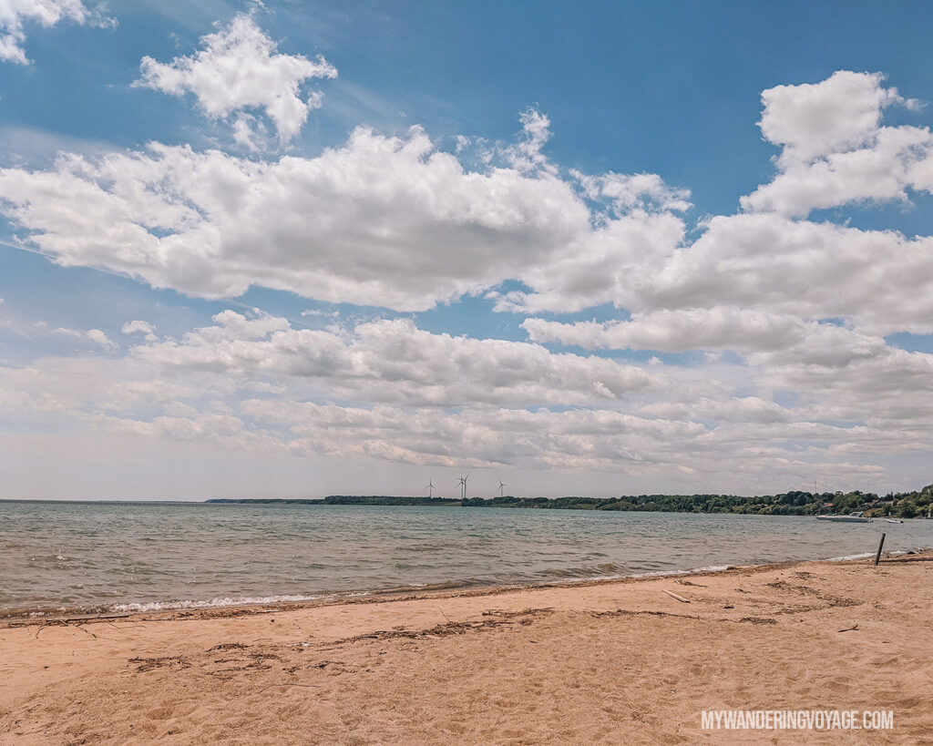 Port Dover Beach | Discover Ontario's Garden: Relaxing things to do in Norfolk County | My Wandering Voyage travel blog