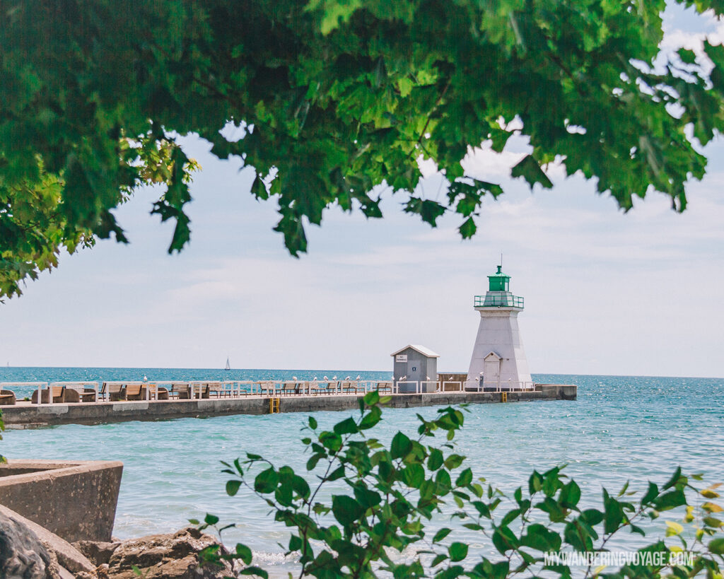 Port Dover Lighthouse | Discover Ontario's Garden: Relaxing things to do in Norfolk County | My Wandering Voyage travel blog