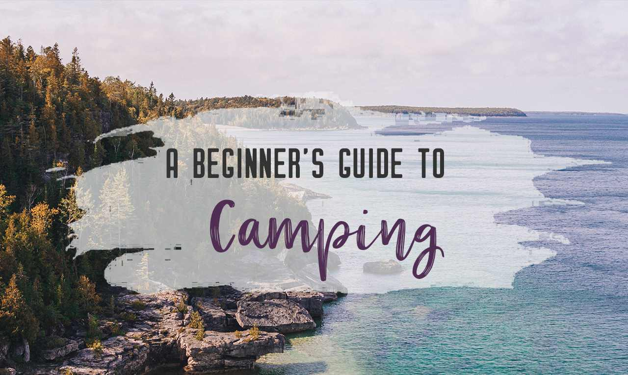 Are you thinking about heading out into the great outdoors for the first time? In this beginner's guide to camping, you'll find a list of car camping essentials, how to set up your campsite, camping recipes, camping etiquette and more. | My Wandering Voyage travel blog #camping #campingguide #campingessentials