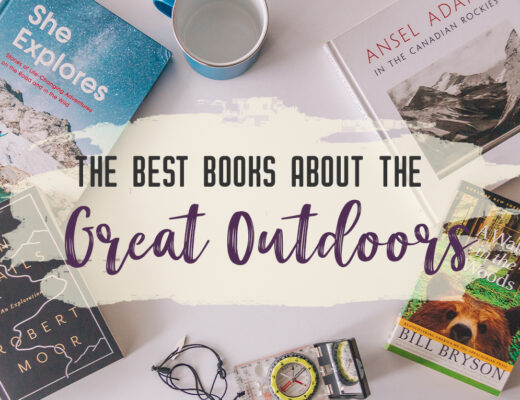 This list of best nature books includes memoirs, biographies, fiction, how-to books and guidebooks. Escape into nature with this list of 38 books about the great outdoors | My Wandering Voyage travel blog #books #GreatOutdoors #Hiking #NatureBooks #Readings