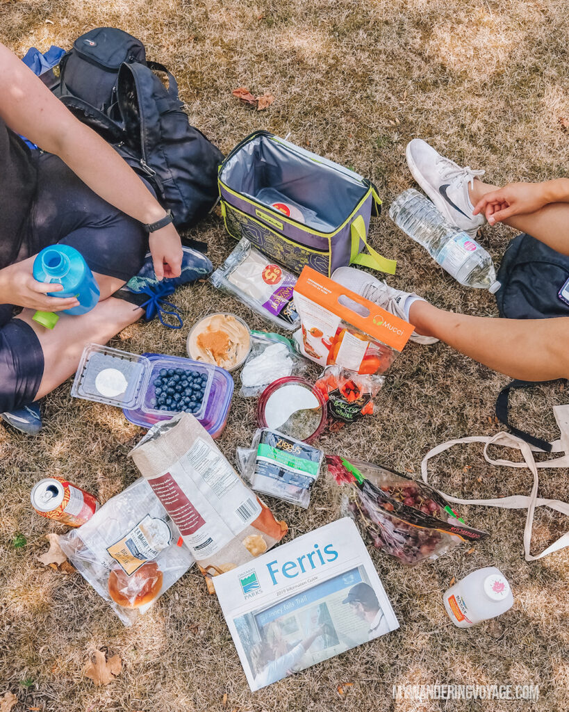 Camping picnic | Beginners guide to camping + camping essentials | My Wandering Voyage travel blog