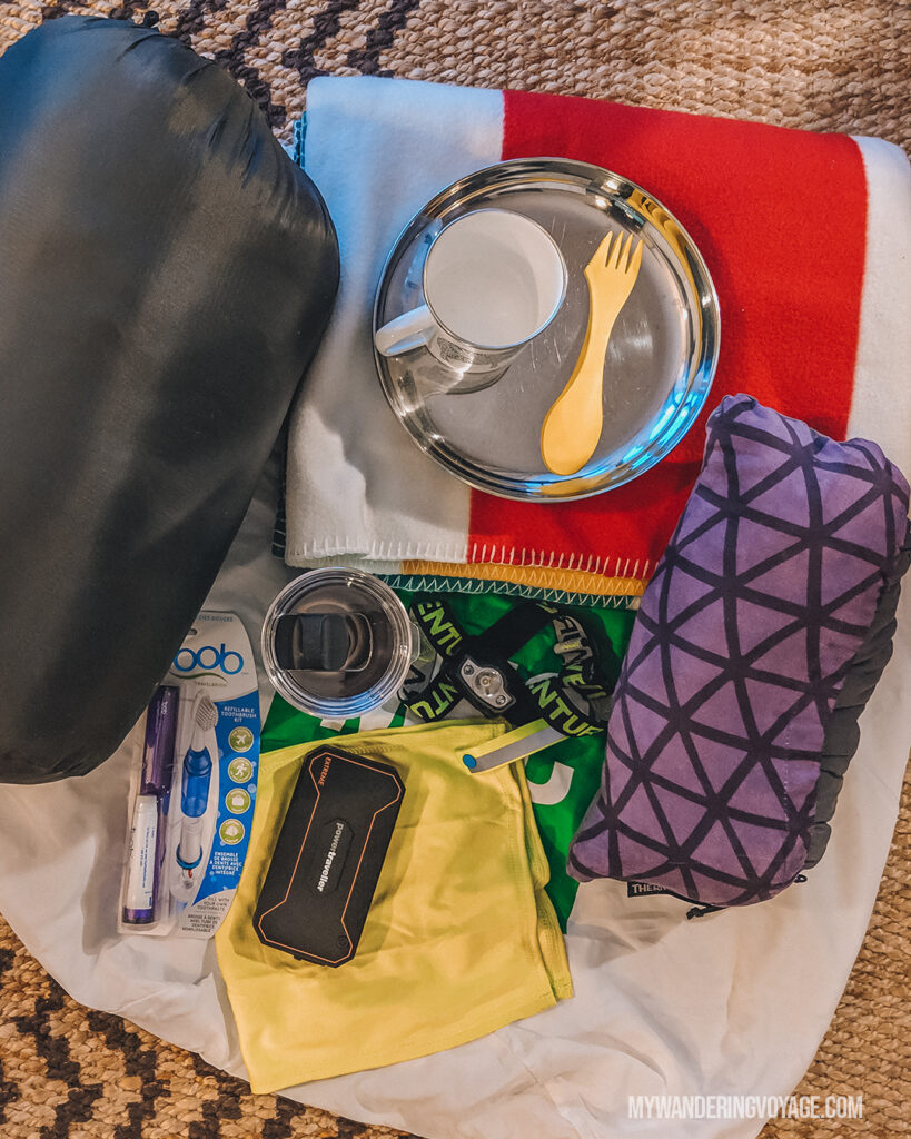 Camping essentials | Beginners guide to camping + camping essentials | My Wandering Voyage travel blog