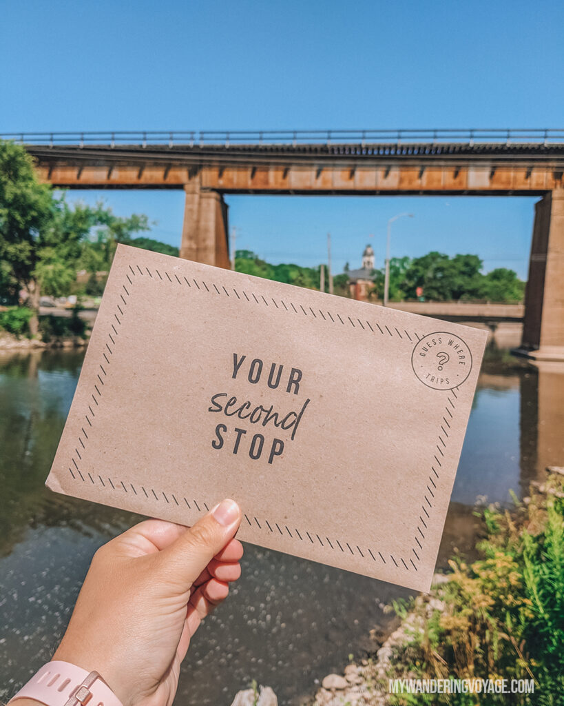 Your Second Stop envelope |  Take a Surprise Day Trip to Ontario |  Travel Blog My Wandering Voyage #Travel #Ontario #Canada #SurpriseTrip #TripItinerary