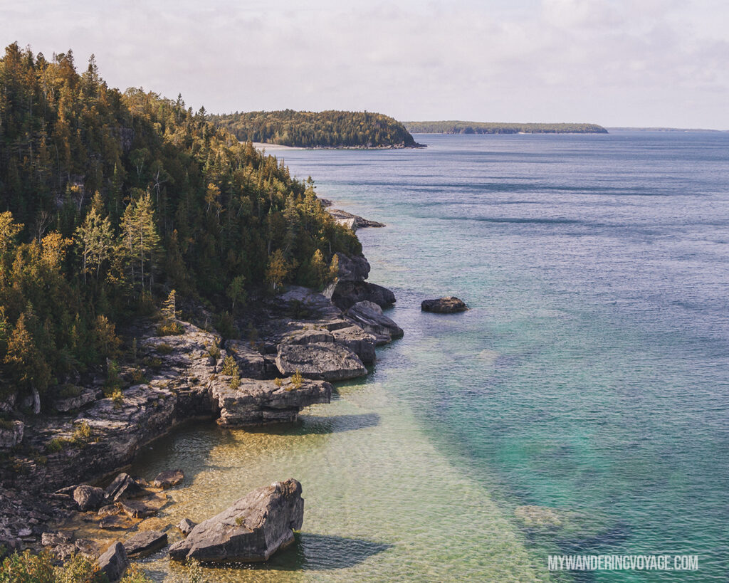 Bruce Peninsula National Park | The Ultimate Guide to National Parks in Ontario | My Wandering Voyage travel blog #travel #Ontario #Canada #BrucePeninsula #ThousandIslands #camping