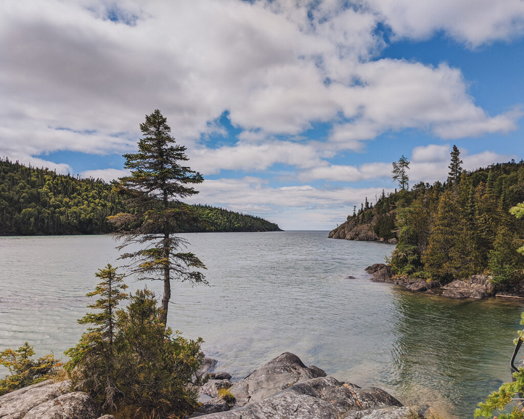 Views of Lake Superior at Pukaskwa National Park | Everything you need to know about Pukaskwa National Park [+ hiking guide] | My Wandering Voyage travel blog #Pukaskwa #NationalPark #Canada