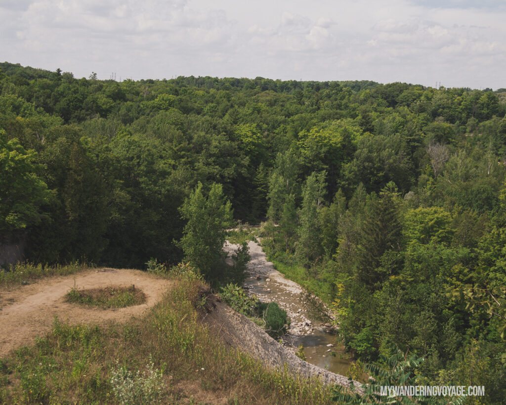 Viewpoint at Rouge National Urban Park | The Ultimate Guide to National Parks in Ontario | My Wandering Voyage travel blog #travel #Ontario #Canada #BrucePeninsula #ThousandIslands #camping