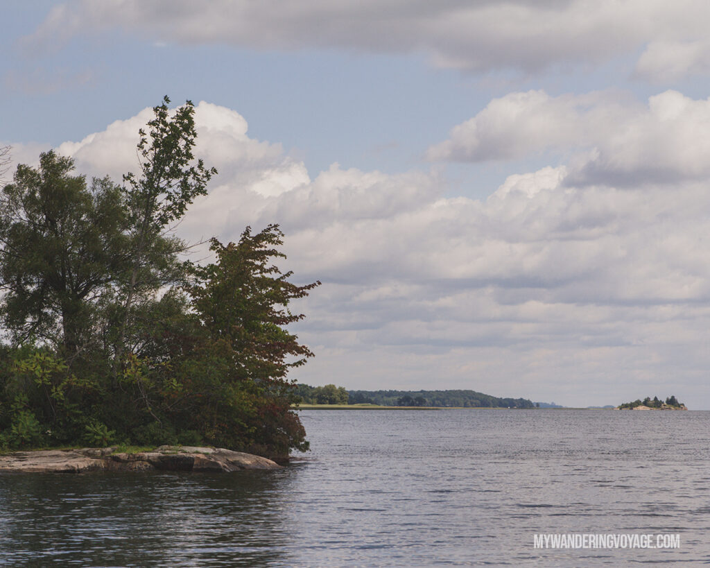Thousand Islands National Park | The Ultimate Guide to National Parks in Ontario | My Wandering Voyage travel blog #travel #Ontario #Canada #BrucePeninsula #ThousandIslands #camping