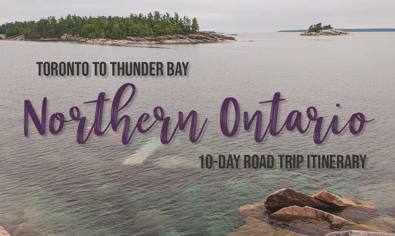 Discover Lake Superior on this Toronto to Thunder Bay road trip. This 10-day Northern Ontario road trip will take you to spectacular vistas, magical waterfalls and must-see places along Lake Superior. | My Wandering Voyage travel blog #LakeSuperior #RoadTrip #Ontario #Canada #travel